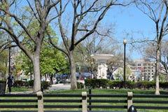 Cerchio di Du Pont in Washington DC immagine stock