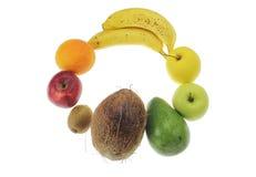 Cerchio di frutta Fotografie Stock