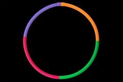Cerchio di Hula Immagini Stock Libere da Diritti