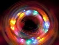 Cerchio di indicatore luminoso Fotografia Stock Libera da Diritti