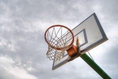 Cerchio di pallacanestro immagini stock libere da diritti