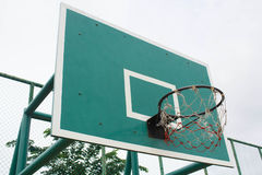 Cerchio di pallacanestro Immagini Stock