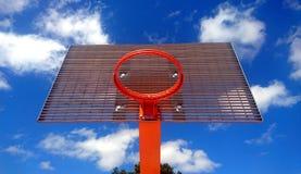 Cerchio di pallacanestro Fotografie Stock Libere da Diritti