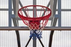 Cerchio di pallacanestro all'aperto Immagine Stock Libera da Diritti