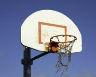 Cerchio di pallacanestro della via Immagine Stock