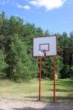 Cerchio di pallacanestro della via Fotografia Stock