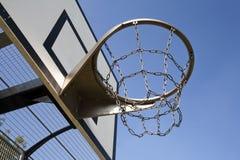 Cerchio di pallacanestro resistente Fotografia Stock Libera da Diritti
