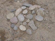 Cerchio di pietra Immagini Stock Libere da Diritti