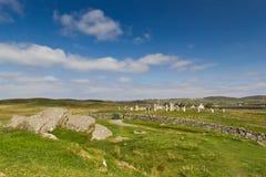 Cerchio di pietra di Callanish Fotografia Stock