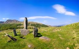 Cerchio di pietra di Uragh immagine stock