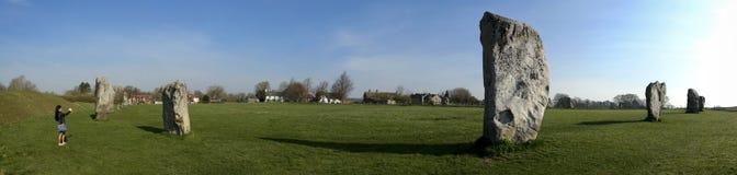 Cerchio di pietra Wiltshire Inghilterra di Avebury fotografia stock libera da diritti