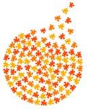 Cerchio di puzzle Immagini Stock Libere da Diritti