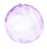 Cerchio di scarabocchio dell'acquerello Fotografie Stock Libere da Diritti