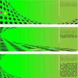 Cerchio di semitono della freccia Fotografia Stock