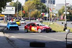 Cerchio 2017 di Skopje Fotografia Stock