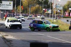 Cerchio 2017 di Skopje Fotografie Stock