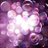 Cerchio di vetro Immagini Stock