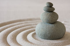 Cerchio di zen Fotografie Stock