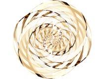 Cerchio dorato 2 Fotografie Stock Libere da Diritti