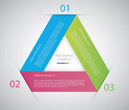 Cerchio infographic Fotografia Stock Libera da Diritti