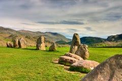 Cerchio mistico delle pietre Fotografia Stock Libera da Diritti
