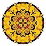 Cerchio modellato illustrazione di stock
