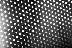 Cerchio nero d'acciaio immagini stock