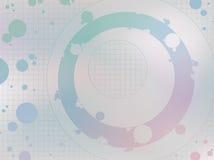 Cerchio-pastello Fotografie Stock Libere da Diritti