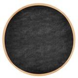 Cerchio rotondo lavagna/della lavagna Fotografia Stock Libera da Diritti
