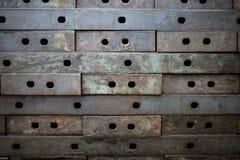 Cerchio scuro netto del metallo Fotografie Stock Libere da Diritti