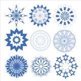 Cerchio stabilito di progettazione di vettore decorativo degli elementi fotografia stock