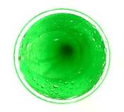 Cerchio verde Fotografie Stock
