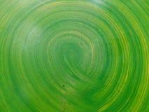 Cerchio verde immagine stock