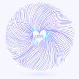 Cercle abstrait Images stock
