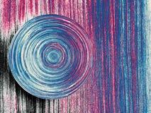 Cercle abstrait de la vie images stock