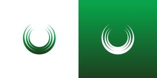 Cercle abstrait Logo Icon Symbol Set Photo stock