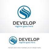 Cercle abstrait Logo Template Design Vector, emblème, concept de construction, symbole créatif, icône Photographie stock libre de droits