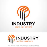 Cercle abstrait Logo Template Design Vector, emblème, concept de construction, symbole créatif, icône Image libre de droits