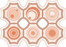 Cercle abstrait réglé de graphisme, vecteur Illustration de Vecteur