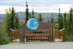 Cercle arctique photo libre de droits