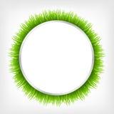 Cercle avec l'herbe Image libre de droits
