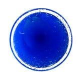 Cercle bleu Images stock