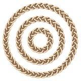 Cercle celtique de cadre Image libre de droits
