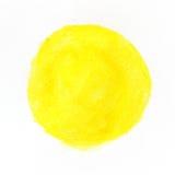 Cercle coloré de peinture d'aquarelle photo libre de droits