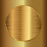 Cercle d'or illustration libre de droits