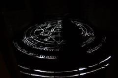 Cercle d'alchimie Photo libre de droits