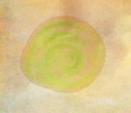 Cercle d'aquarelle, fond abstrait tiré par la main pour la carte Images libres de droits