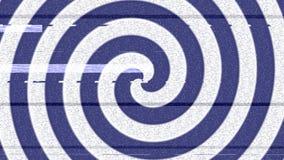 Cercle d'hypnose illustration stock