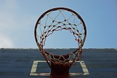 Cercle de basket-ball Photographie stock libre de droits