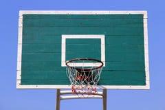 Cercle de basket-ball de panneau arrière de basket-ball Images libres de droits